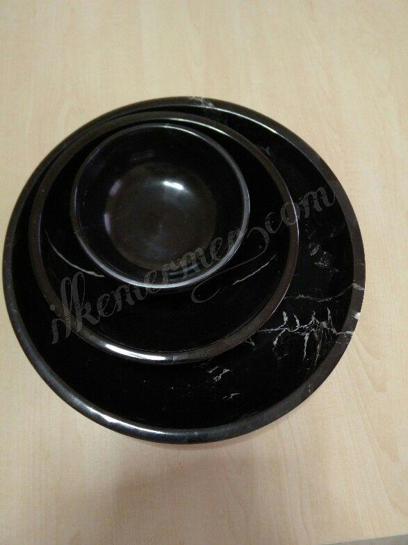 Mermer servis tabağı ,meyve tabağı,mermer tabak,mermer kase