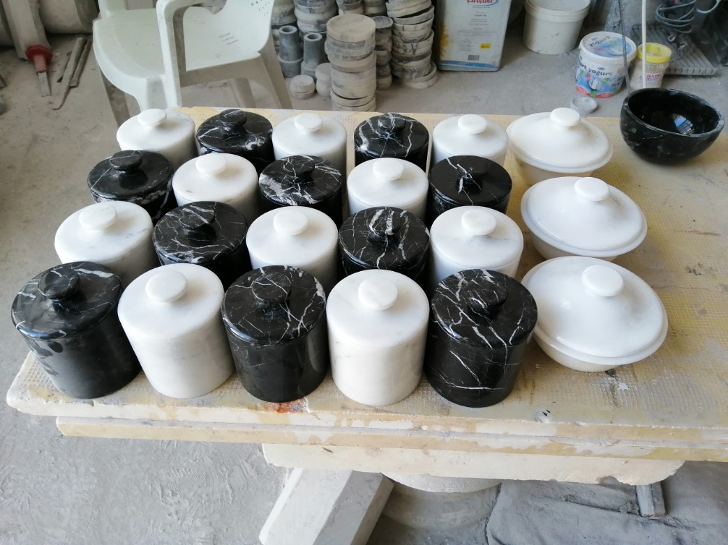 Mermer kase, Sunum tabağı