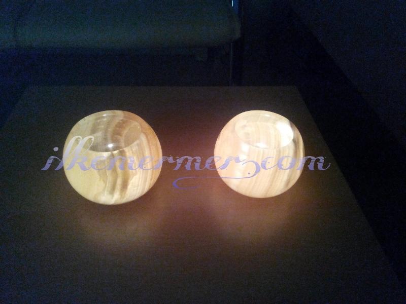 Mermer lamba,Aplik,Mumluk,Şamdan 10