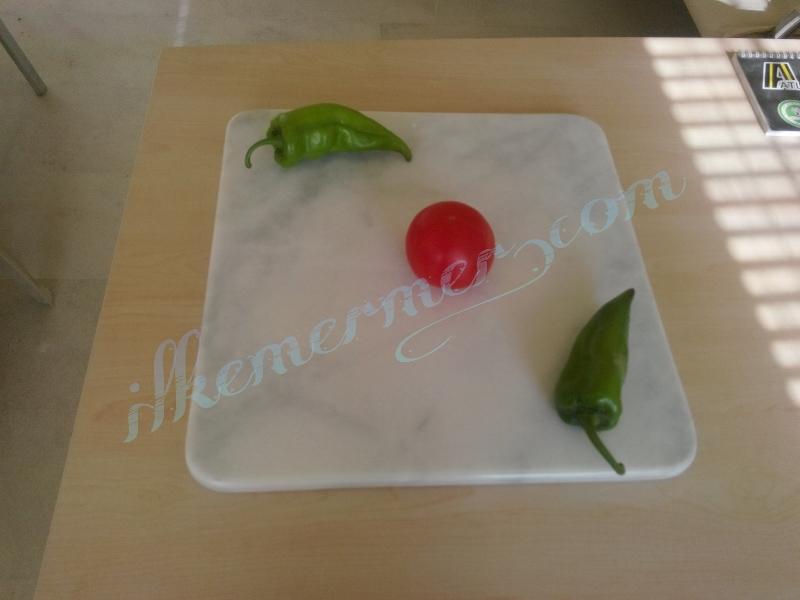 Afyon beyazı doğrama tahtası,sunum tabağı,sunum tablası