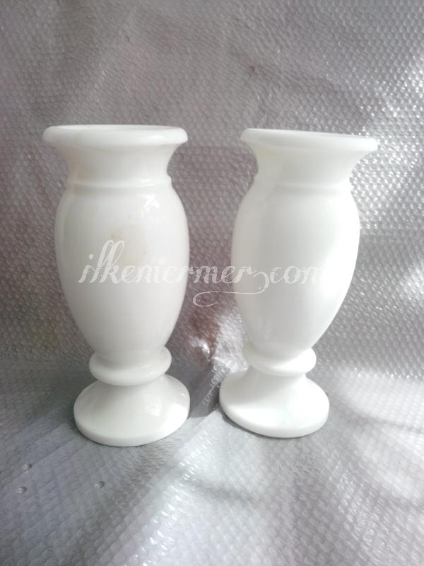 Mermer vazo ve dekoratif vazolar